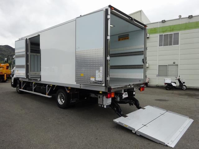 いすゞ 低温冷凍車 -30℃設定 格納PG ワイド 2.7t積み