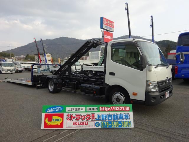 トヨタ 2t 積載車 1台積みキャリアカー 極東 フラトップZero