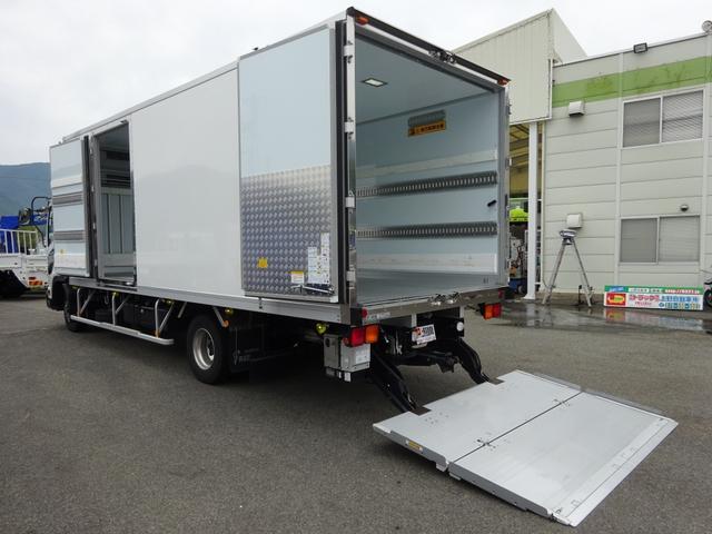 いすゞ 低温冷凍車 -30℃設定 格納PG付 ワイド幅 2.7t積み
