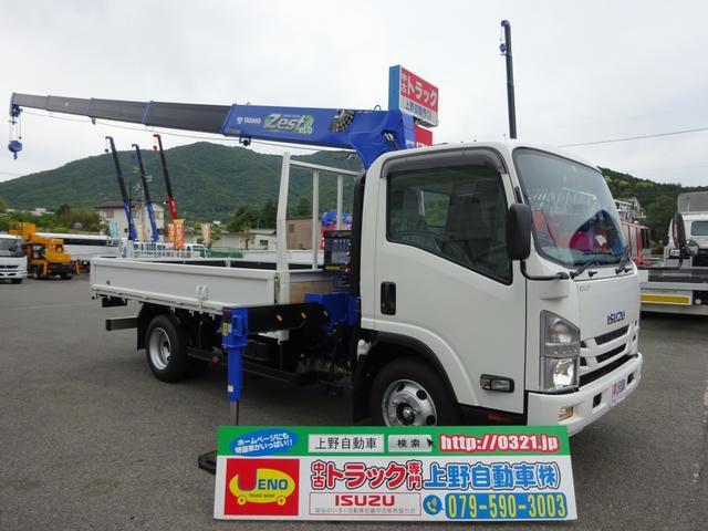 いすゞ クレーン付 5段 ワイド幅 ロング 3.4t積み