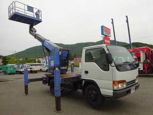 いすゞ 高所作業車 9.9m スーパーデッキ 積載荷重1000kg