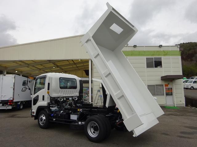 いすゞ フォワード Fゲートダンプ Lゲート 新明和工業 3.65t積み