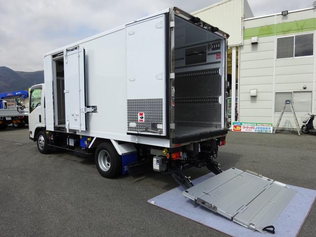 いすゞ 低温冷凍車 床下格納PG付 スタンバイ機能 3t積み