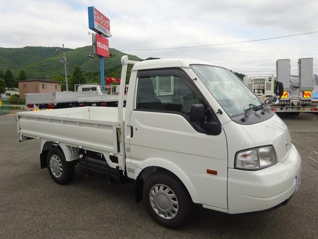 マツダ 平ボディ シングルワイドロー 2WD ロング 1.15t積み