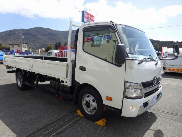 トヨタ ダイナトラック  平ボディ ワイド 超ロング 4650kg積載 180馬力 6速MT 日野デュトロOEM車