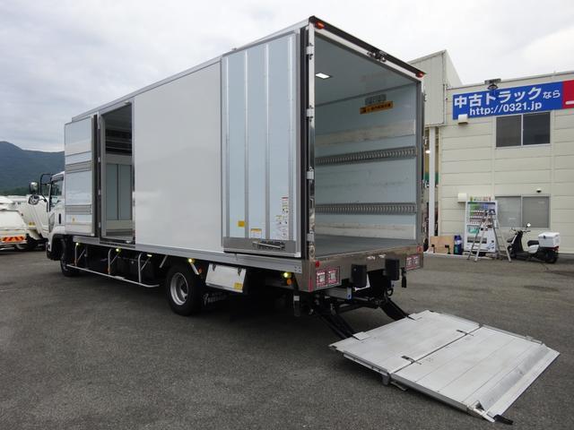 いすゞ  低温冷凍車 -30℃設定 床下格納ゲート 左片開き扉 ワイド ベッド付 2450kg積載