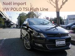 VW ポロTSIハイライン 車高調 17AW エアロ メモリーナビ
