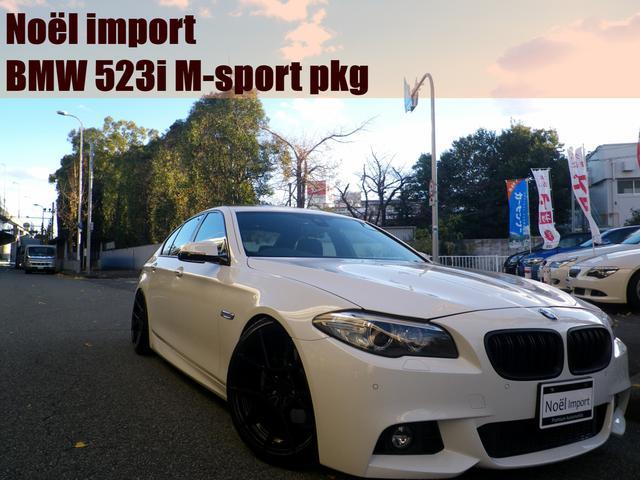 BMW 5シリーズ 523i Mスポーツ 後期モデル/禁煙車/サンルーフ/RUSH車高調/rotiform20AW