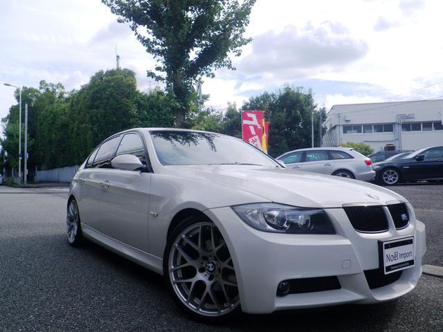 BMW 3シリーズ 323i Mスポーツパッケージ 禁煙車/社外19AW/黒革&シートヒーター