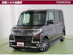 タントカスタムX トップエディションSAIII SDナビ TRC