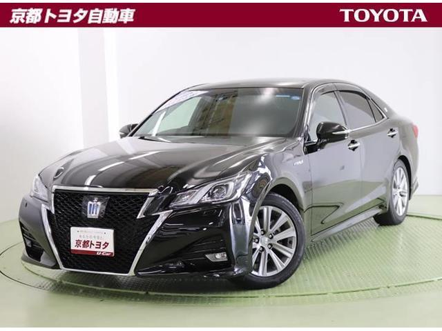 トヨタ アスリートG レザーシート SDナビ バックモニター ETC