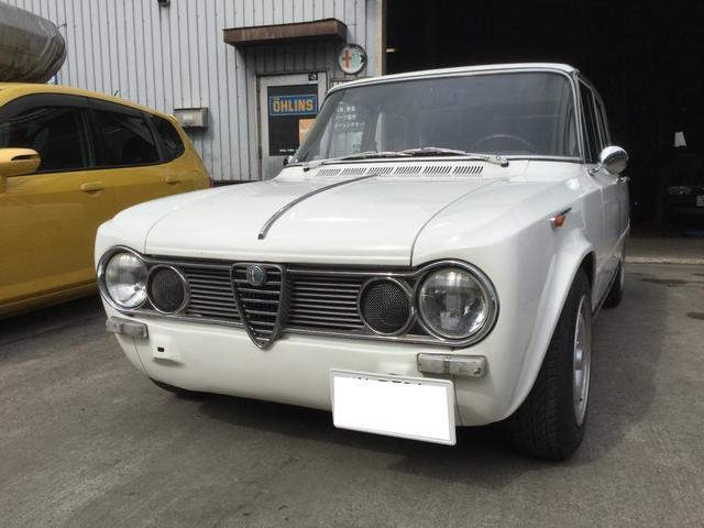 アルファロメオ ジュリアスーパー 1600