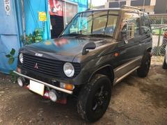 パジェロミニXR−II 4WD 社外パワーシート アルミ キーレス