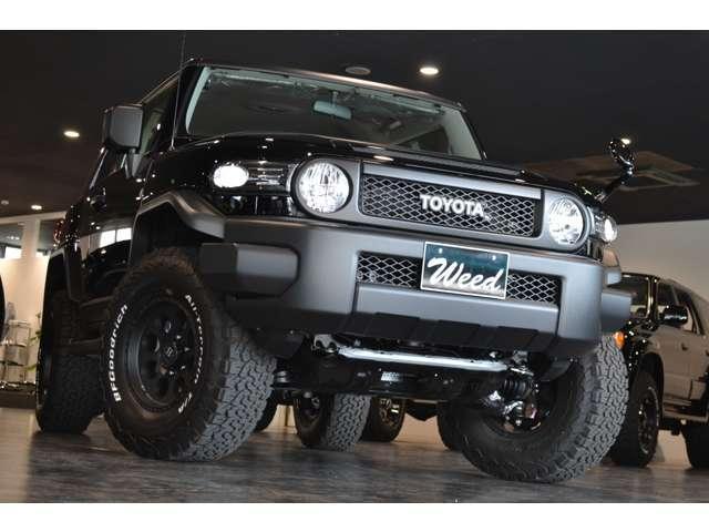 トヨタ 4.0 4WD オフロードスタイル リフトUP