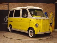ハイゼットカーゴクルーズターボフレンチバス仕様レトロキャルルックカーロコバス