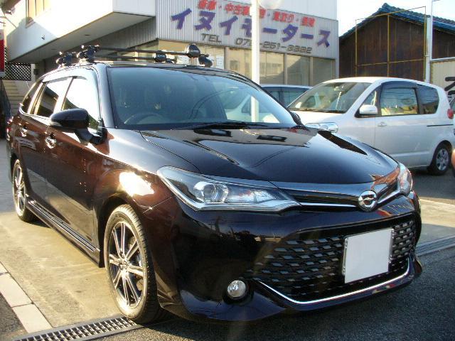 トヨタ 1.8S W×B フルセグTVナビ ローダウン