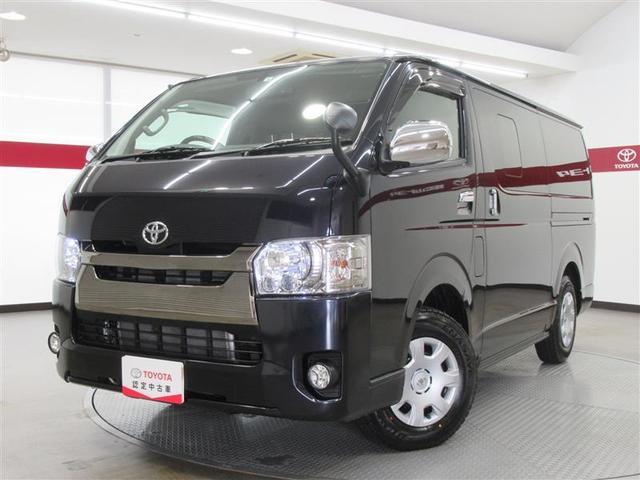 トヨタ  3,000ccディーゼルターボ 社外ナビ・ETC・バックカメラ・後席モニター LEDヘッド