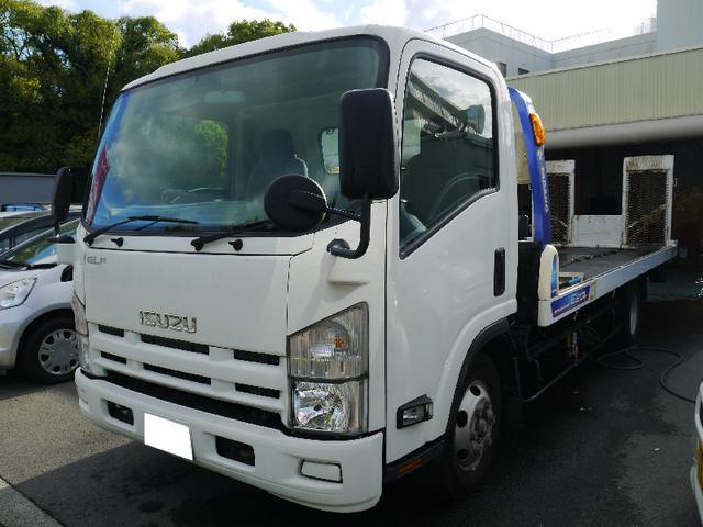 いすゞ 積載車 7.61m 新品エンジン・クラッチディスク交換済み