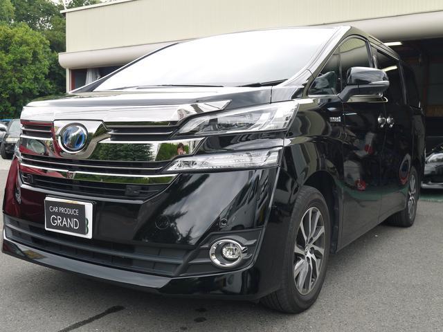 トヨタ ヴェルファイアハイブリッド エグゼクティブラウンジプリクラオートスッテップ3年全国保証付