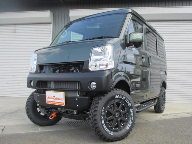 ジョインターボ 外装プラスライン仕様・4インチアップ・構造変更届出納車・ターボ付・4WD・4AT(1枚目)