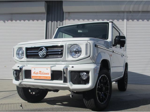 スズキ XC ダムド リトルGコンプリート仕様 届出済未使用車 ターボ.4WD.4AT パールホワイト