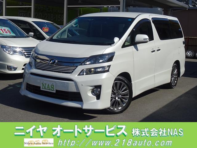 トヨタ 2.4Z ゴールデンアイズ 8インチナビ パワーバックドア
