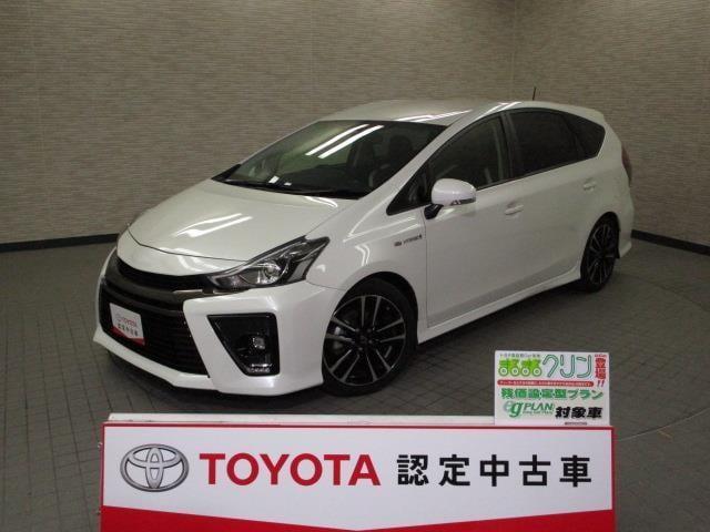 トヨタ プリウスアルファ Sツーリングセレクション・G's スマートキ- ETC