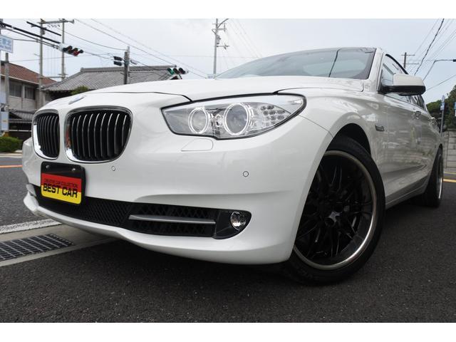 BMW 5シリーズ 535iグランツーリスモ 360度カメラ・サンルーフ 黒革シート・前後シートヒーター・シートエアコン ナビ・TV・フルセグ・センサーソナー パワートランク・パワーシートHID・ETC