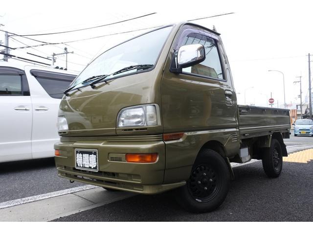 三菱 ミニキャブトラック VXスペシャルエディションNEWダイハツカラーオールペイント 2オーナー エアコン パワステ  NEWタイヤ