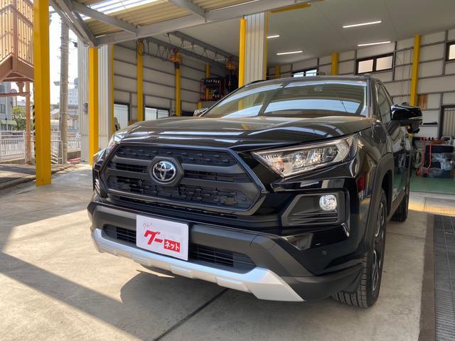 トヨタ アドベンチャー 4WD 登録済み未使用車 保証継承あり