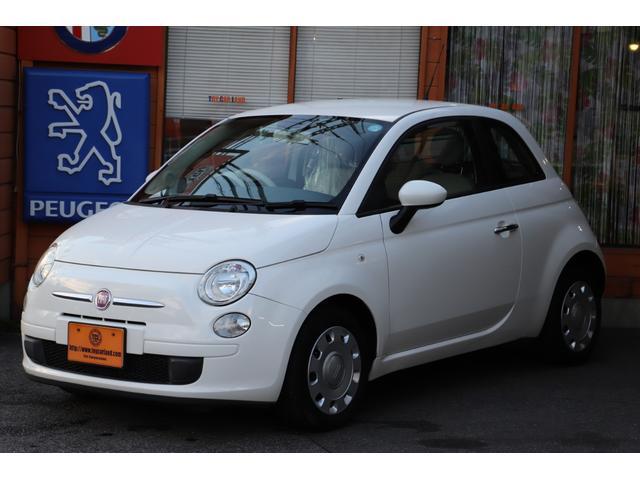 「フィアット」「500(チンクエチェント)」「コンパクトカー」「滋賀県」の中古車