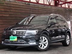 VW ティグアン黒本革シート パノラミックSR ヘッドUPディスプレイ ナビ