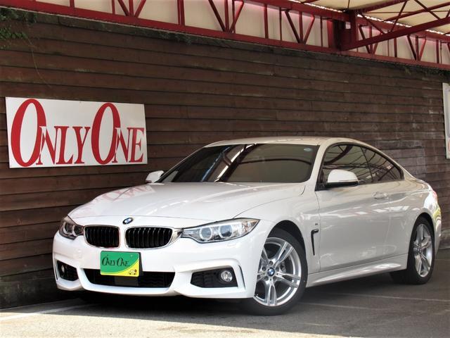 BMW 420iクーペ Mスポーツ 赤革シート ACC ナビBカメ