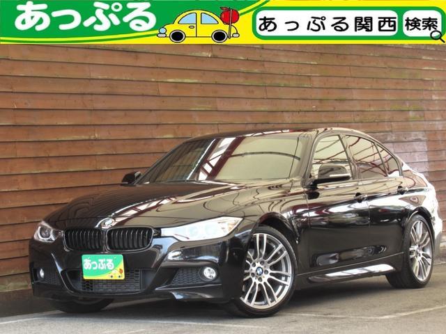 BMW 320i Mスポーツ 1オーナ 禁煙 純正オプション19AW 電動サンルーフ キセノン LEDポジションリング パドルシフト 前席パワーシート パーキングアシスト ドライビングパフォーマンスコントロール ナビ Bカメラ