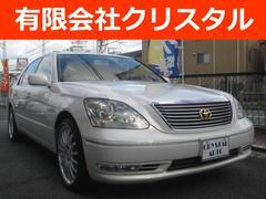 セルシオeR仕様 純正ナビ 本革SR 整備車検2年付総額72.2万円
