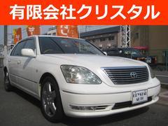 セルシオeR仕様 純正ナビ 黒革SR 整備車検2年付総額72.2万円