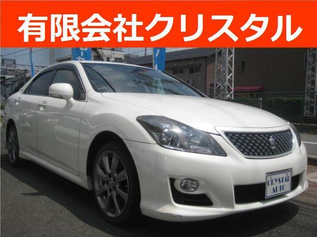トヨタ 3.5アスリートGパッケージ 純HDDナビTV 黒革 ETC