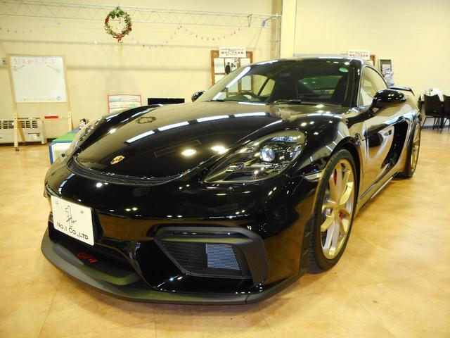 ポルシェ 718ケイマンGT4 6速MT スポーツクロノPKG PASM スポーツエグゾースト 純正ナビ バックモニタ 純正20inAW 正規D車 メーカー保証付