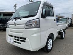 ハイゼットトラックスタンダードSAIIIt 4WD AT車 LEDヘッドライト 届出済未使用車 社外12インチアルミ マット バイザー