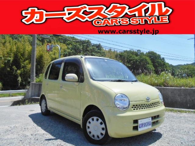 ダイハツ X ベンチシート 純正キーレス付 ABS装備車両