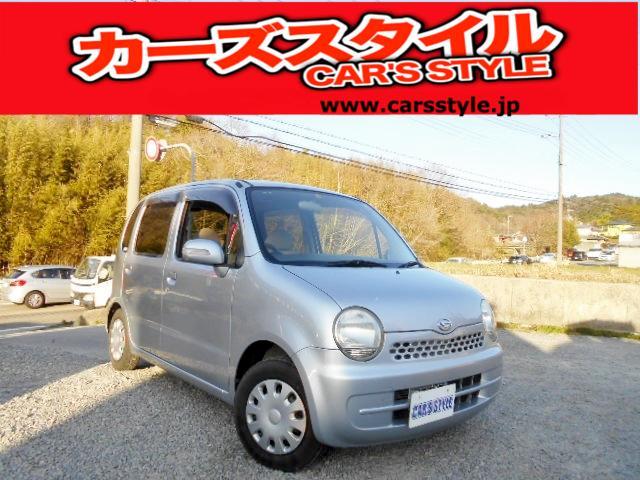 ダイハツ X 純正キーレス付き ベンチシート車 電動格納式ミラー装備