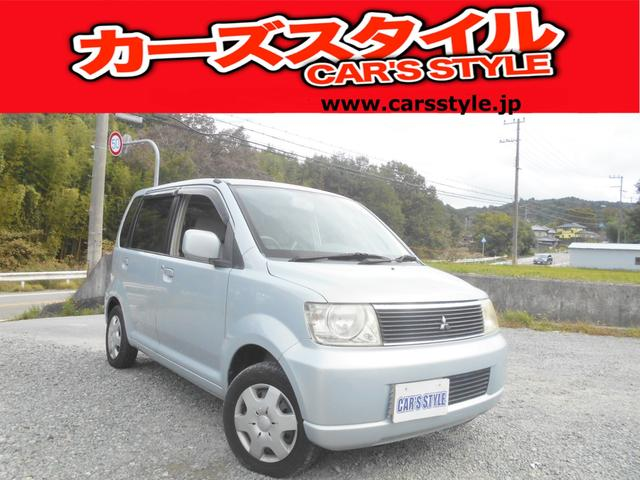 三菱 eKワゴン M 保証付き ベンチシート車 サイドバイザー付...