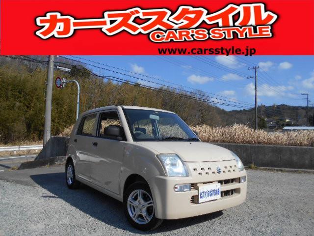 スズキ アルト E 保証付き タイミングチェーン ETC付き CDデッキ アルミホイール オートチック車