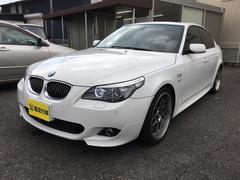 BMW540i MスポーツPKG 黒革 サンルーフ BBS19AW