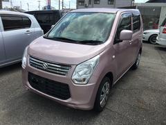ワゴンRFX ナビ TV 軽自動車 ピンク