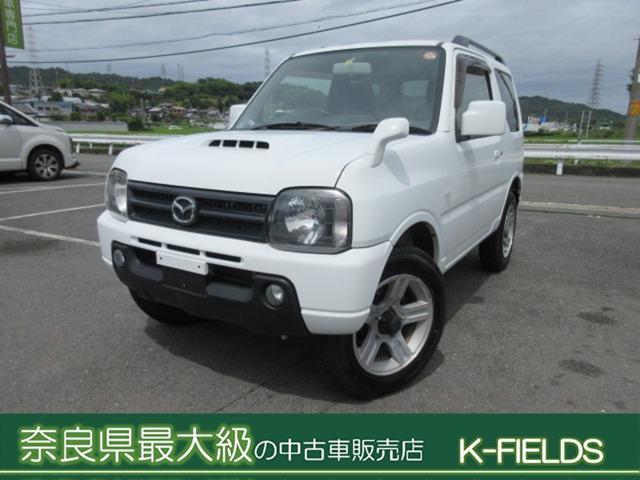 マツダ AZオフロード XC 4WD 法人ワンオーナー キーレス フォグランプ