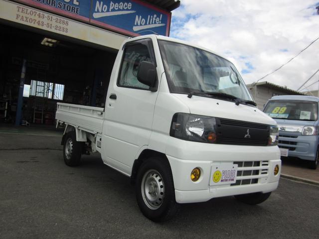 三菱 ミニキャブトラック Vタイプ 4WD 5速マニュアル エアコン パワステ付き