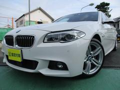 BMW523d MスポーツHDDナビフルセグTVバックカメラ