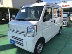 エブリイPA パートタイム4WD ダブルエアバッグ エアコンパワステ 安全ボディ