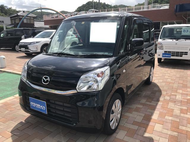 マツダ XG 軽自動車 自動ブレーキ インパネCVT 保証付